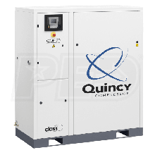 Quincy QOF 20-HP Oil-Free Tankless Scroll Compressor (230V 3-Phase 116 PSI)