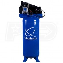 Quincy 3.5-HP 60-Gallon (Belt Drive) Single Stage Cast-Iron Air Compressor (230V 1-Phase)