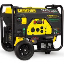 Champion 76533 - 3800 Watt Electric Start Dual Fuel Portable Generator w/ RV Outlet