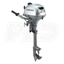 "Honda 2.3 HP (15"") Shaft Gas Powered Outboard Motor"