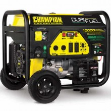 Champion 100297 - 8000 Watt Electric Start Dual Fuel Portable Generator