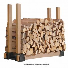 Shelter Logic LumberRack Firewood Bracket Kit