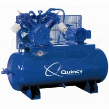 Quincy 15-HP 120-Gallon Two-Stage QT Pro Air Compressor (460V 3-Phase)