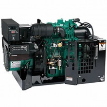 Cummins Onan SD 7500 - 7500 Watt 3-Phase Commercial Open Diesel Mobile Generator