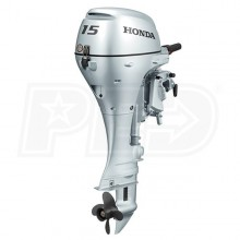 "Honda 15 HP (20"") Shaft Gas Powered Outboard Motor"