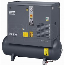 Atlas Copco GX2 3-HP 53-Gallon Rotary Screw Air Compressor w/ Dryer (230V 1-Phase)