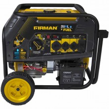 Firman H08051 - Hybrid Series 8000 Watt Electric Start Dual Fuel Portable Generator