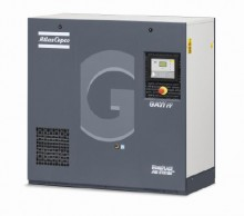Atlas Copco 15 HP Rotary Screw Air Compressor with Air Dryer, 57.0 CFM @ 125 PSI | GA11-125 AFF 208-230/460