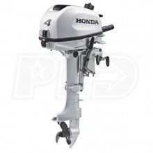 "Honda 4 HP (15"") Shaft Gas Powered Outboard Motor"