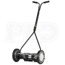 "Earthwise Lawn Mower (16"") 7-Blade Push Reel Lawn Mower"