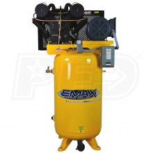 EMAX 10-HP 80-Gallon V-4 Two-Stage Air Compressor (230V 1-Phase)