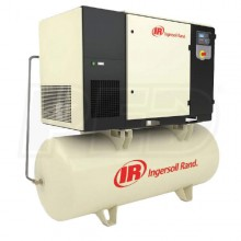 Ingersoll Rand 30-HP 240-Gallon Total Air System Rotary Air Compressor (460V 3-Phase 200 PSI) w/ Dryer