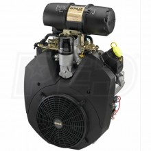 "Kohler Command Pro CH1000 999cc 37 Gross HP Electric Start Horizontal Engine, 1-7/16"" x 4-7/16"" Crankshaft, Tapped 5/8""-18"