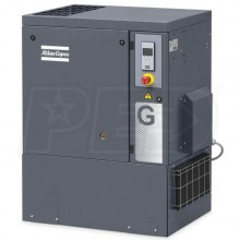 Atlas Copco G7 10-HP Tankless AP Rotary Screw Air Compressor (208-230/460V 3-Phase)