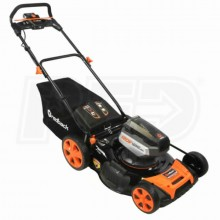 """Redback (21"""") 120-Volt Lithium-Ion Cordless Electric Lawn Mower"""
