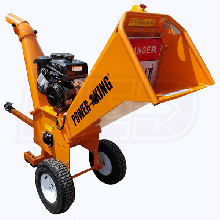 "PowerKing (5"") 14HP Kohler Tow-Behind Wood Chipper Shredder"