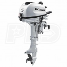 "Honda 5 HP (15"") Shaft Gas Powered Outboard Motor"