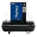 Quincy QGS 5-HP 60-Gallon Rotary Screw Compressor (230V 1-Phase)
