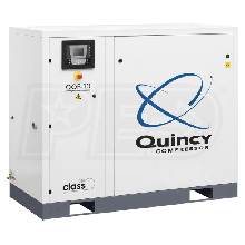 Quincy QOF 10-HP Oil-Free Tankless Scroll Compressor w/ Dryer (230V 3-Phase 116 PSI)