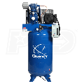 Quincy 7.5-HP 80-Gallon Pressure Lubricated Two-Stage QP Pro Air Compressor (230V 1-Phase)
